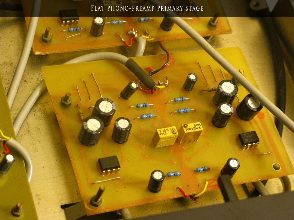 78 Rpm Restorations Pre Amp Circuit Close Up Of Preamp Boards